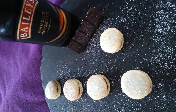 Macarons noisette / Bailey's