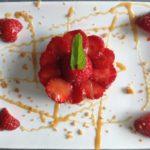 Sablé gourmand aux fraises