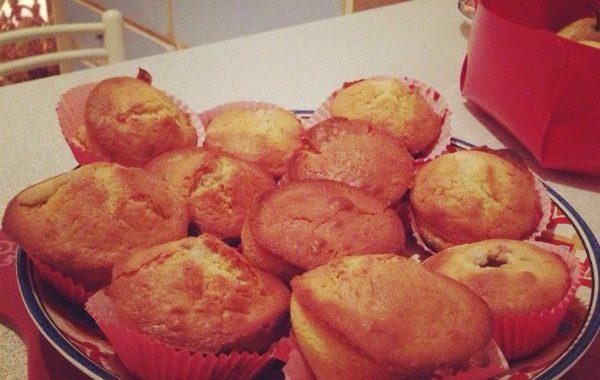Muffins poire frangipane sans gluten