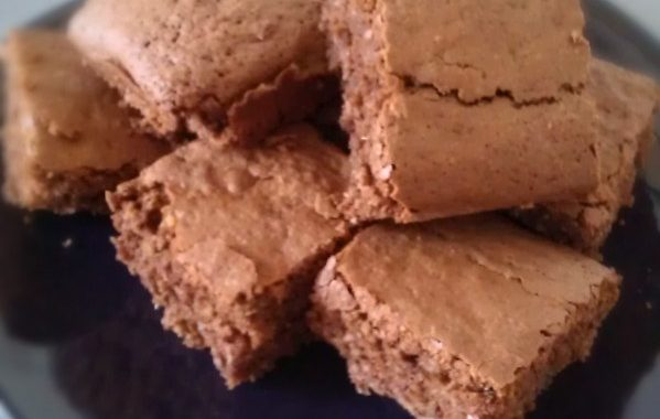 Brownie noisette coco