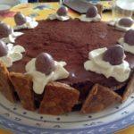 Gâteau de fête au chocolat