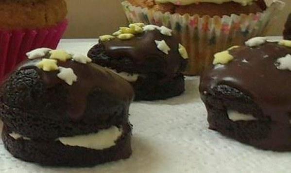 Gâteaux individuels aux biscuits Oréo