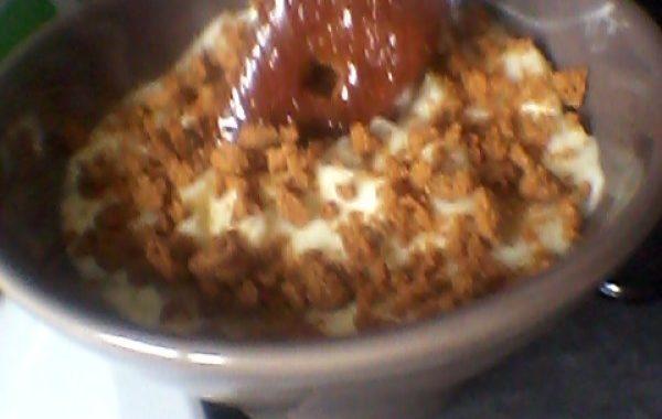 Tiramisu aux pommes caramélisées et spéculoos