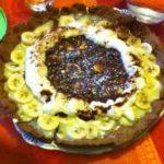 Ma tarte trois chocolats et banane