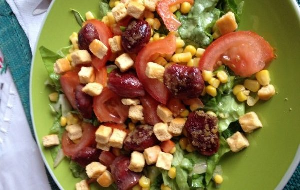 La salade périgourdine de Mamé