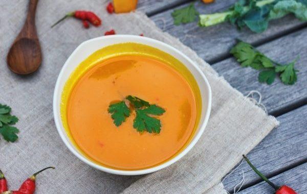 Soupe potiron et radis noir