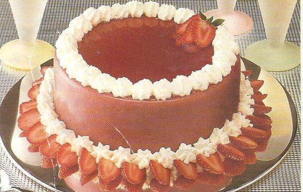 Tip Top Bavaroise aux fraises