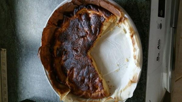 Tarte pomme amande à la crème