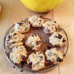 Cookies au pignons de pin et raisins secs