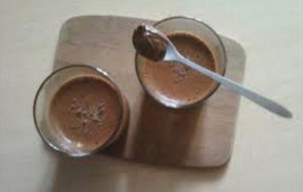 Mousse tiède au nutella
