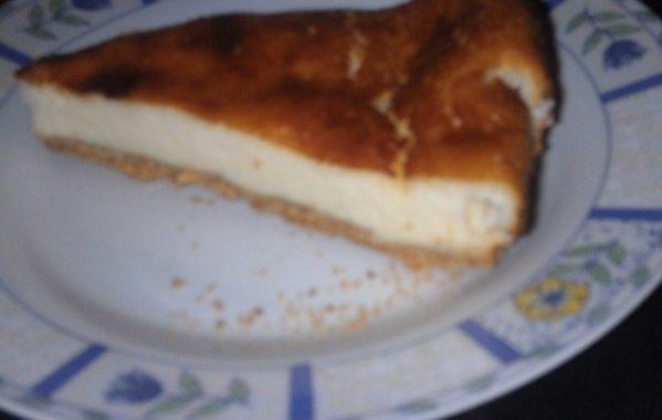Cheesecake aux sablés à la coco de Celeezer