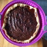 Tarte fondante caramel beurre salé – chocolat