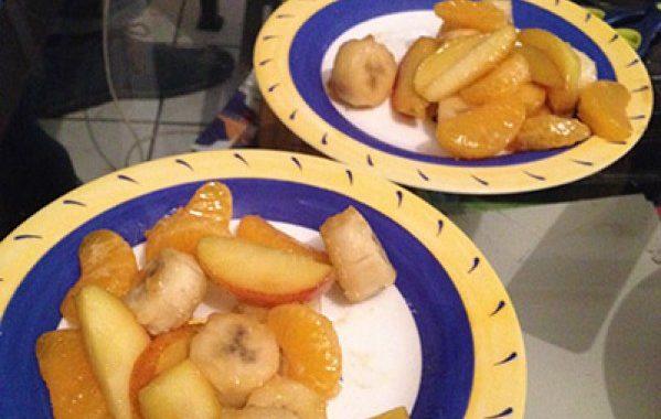 Rakabulle de fruits à l'amaretto