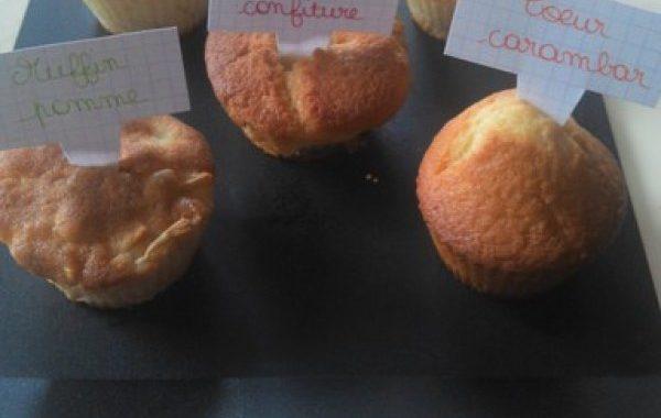 Ribambelle de muffins
