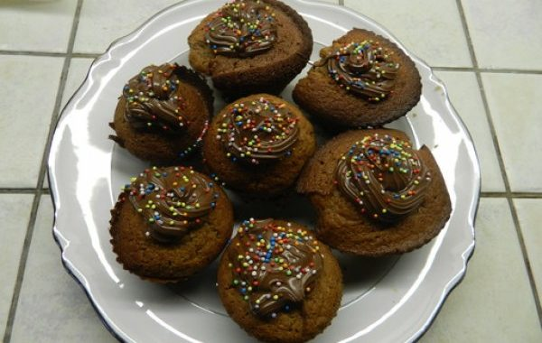 Muffins pralinés au Nutella