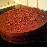 Brownie façon gâteau et sa ganache