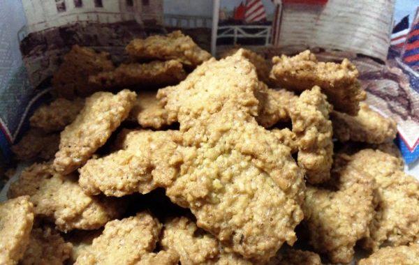 Biscuits craquants aux flocons d'avoine