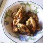 Cuisses de grenouille au beurre aillé et persillé