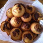 Muffins marbrés Coco/Nutella
