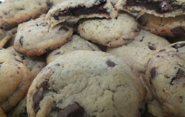 Cookies brownie heart