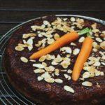 Gâteau à la carotte et aux amandes