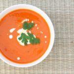 Soupe de tomates au fenouil