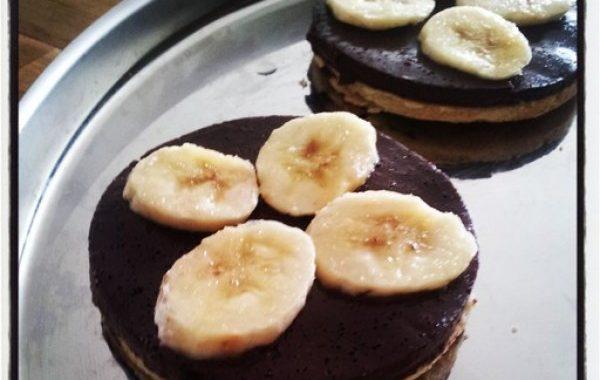 Tarte choco-bananes de Titi