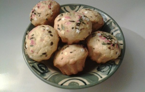 Petits cakes moelleux vanille coco
