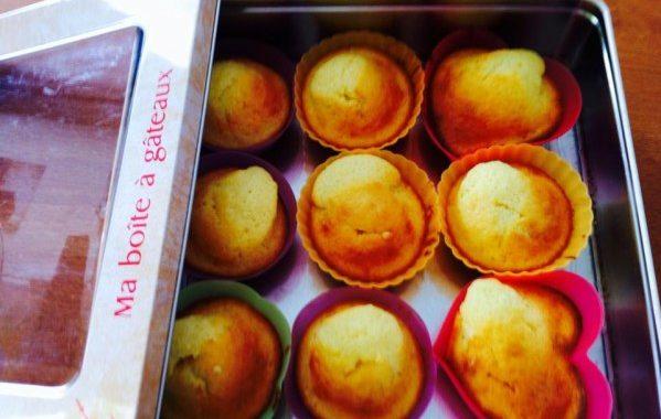 Muffins à l'orange simples