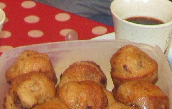Petits cakes au sirop d'érable et aux noix