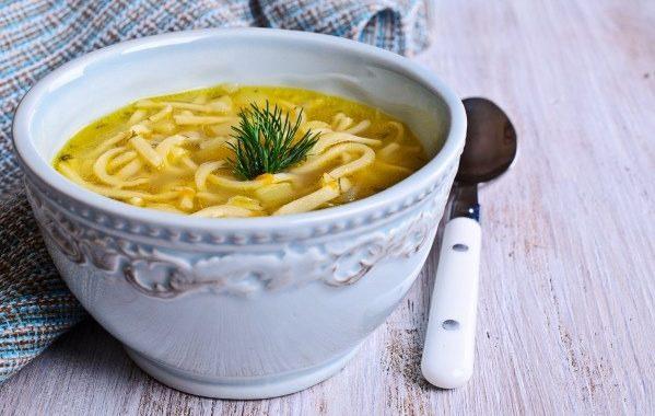 Soupe de vermicelles au curry