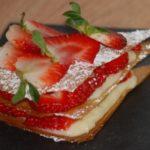 Millefeuille à la fraise