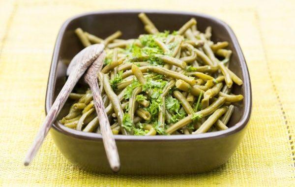 Salade de haricots verts et sa vinaigrette originale