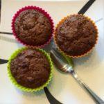 Muffin au chocolat, citron, miel et gingembre