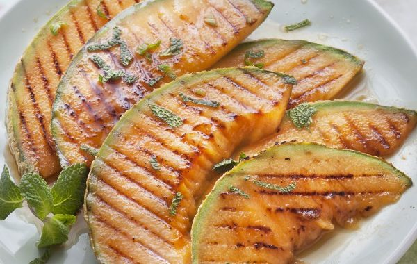 Melon grillé