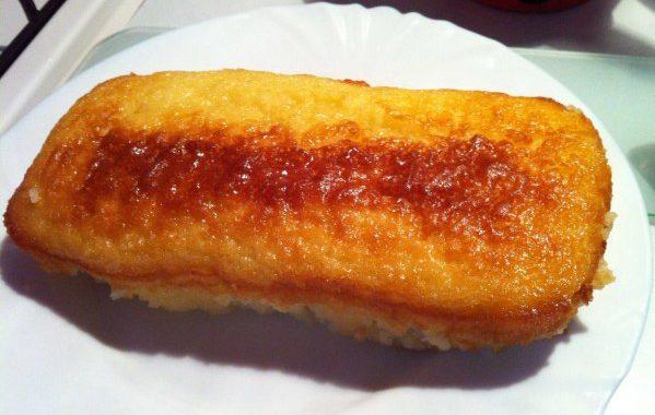 Gâteau de semoule au sirop