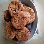Cookies forts en chocolat à la purée d'amandes