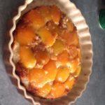 Gâteau style baba aux abricots et au rhum