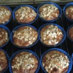 Muffins pomme et abricot