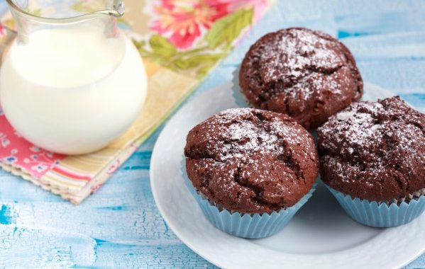 Muffins bananes, chocolat et cannelle