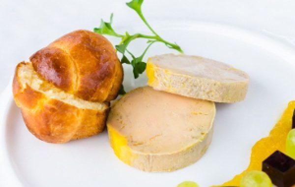 Terrine de foie gras (micro-ondes)
