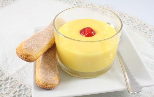 Crème pâtissière sans lait animal, sans oeuf, sans blé