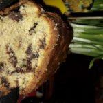 Divin cake (banane, amandes, pépites de chocolat)