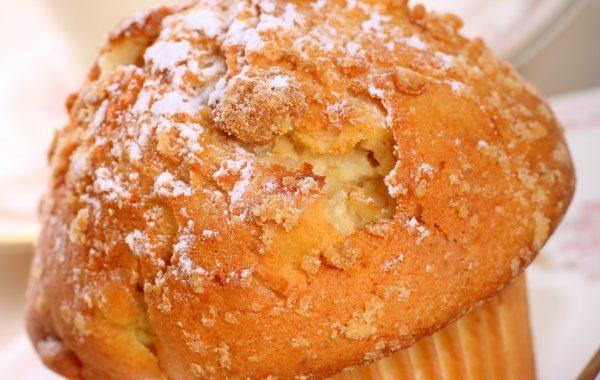 Muffins nordiques à la pomme et aux spéculoos