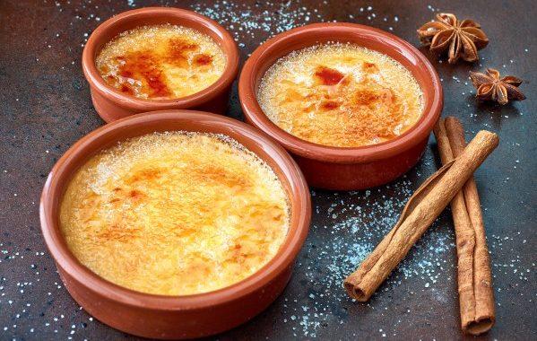 Crème brûlée au pain d'épice