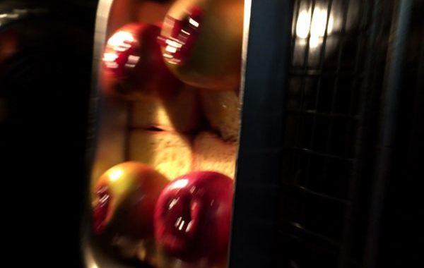 Pomme au four sur pain perdu