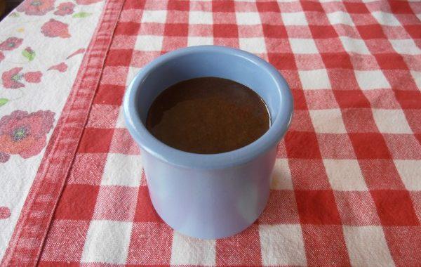 Mousse au chocolat à la poudre d'amande
