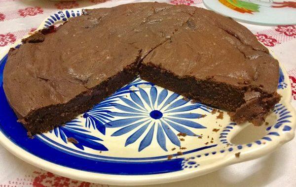 Gâteau confiture de coco chocolat