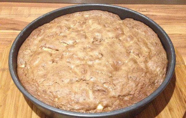 Gâteau pommes & Nutella