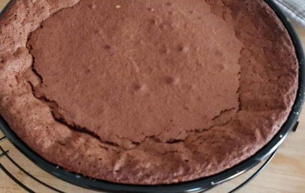 Gâteau au chocolat sans jaunes d'oeufs